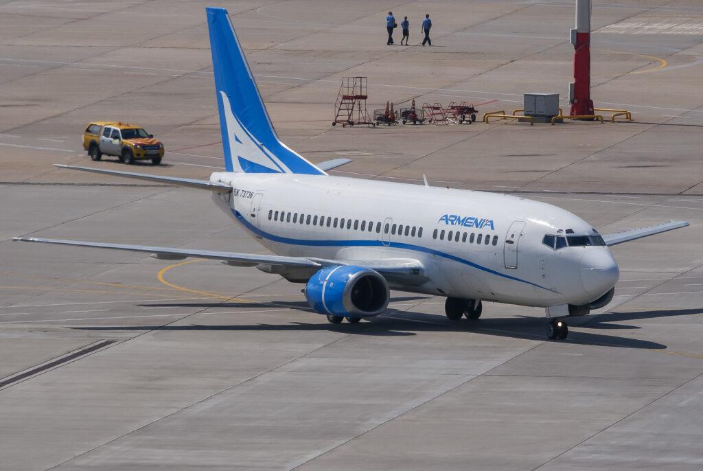 Aircompany Armenia начинает выполнять полеты в Шереметьево